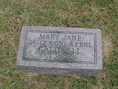 CALDWELL, MARY JANE - Henry County, Iowa | MARY JANE CALDWELL