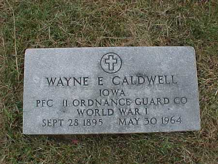 CALDWELL, WAYNE - Henry County, Iowa | WAYNE CALDWELL