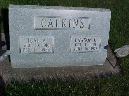 CALKINS, ICAL A. - Henry County, Iowa   ICAL A. CALKINS