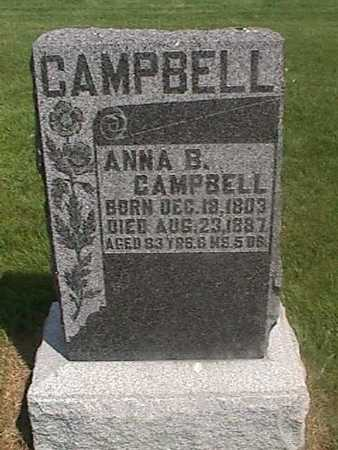 CAMPBELL, ANNA B. - Henry County, Iowa | ANNA B. CAMPBELL