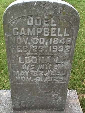 CAMPBELL, JOEL - Henry County, Iowa | JOEL CAMPBELL