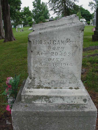 CAMPBELL, THOMAS J - Henry County, Iowa | THOMAS J CAMPBELL