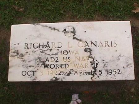 CANARIS, RICHARD L. - Henry County, Iowa | RICHARD L. CANARIS