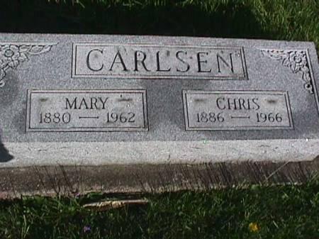 CARLSEN, CHRIS - Henry County, Iowa   CHRIS CARLSEN