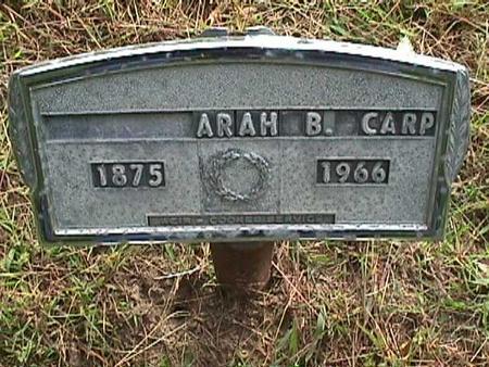 CARP, ARAH - Henry County, Iowa | ARAH CARP