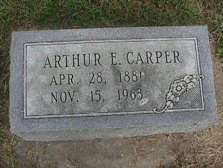 CARPER, ARTHUR E. - Henry County, Iowa | ARTHUR E. CARPER