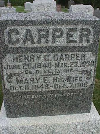 CARPER, MARY - Henry County, Iowa | MARY CARPER