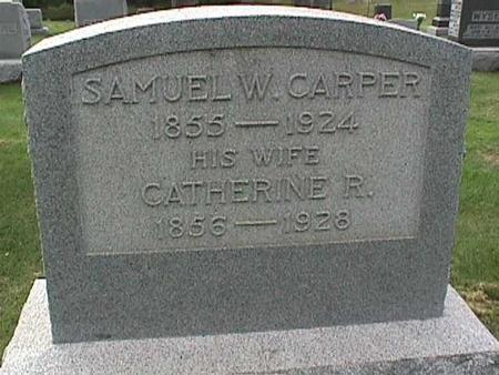 CARPER, SAMUEL W. - Henry County, Iowa   SAMUEL W. CARPER