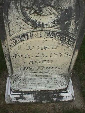 CARPER, SAMUEL - Henry County, Iowa | SAMUEL CARPER