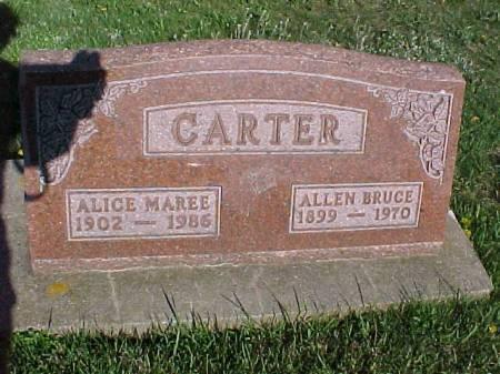 CARTER, ALLEN BRUCE - Henry County, Iowa | ALLEN BRUCE CARTER