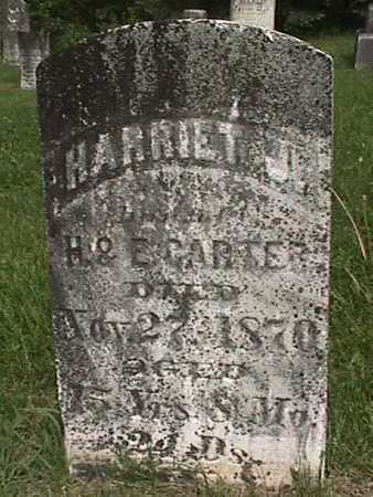 CARTER, HARRIET J - Henry County, Iowa | HARRIET J CARTER