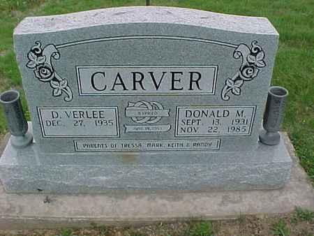CARVER, D. VERLEE - Henry County, Iowa | D. VERLEE CARVER