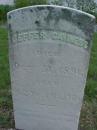 CAVINESS, JEFFER - Henry County, Iowa   JEFFER CAVINESS
