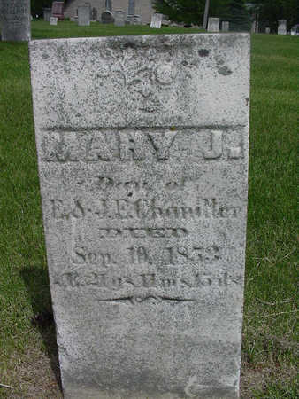 CHANDLER, MARY J. - Henry County, Iowa | MARY J. CHANDLER
