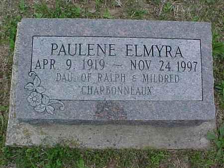 CHARBONNEAUX, PAULENE ELMYRA - Henry County, Iowa | PAULENE ELMYRA CHARBONNEAUX