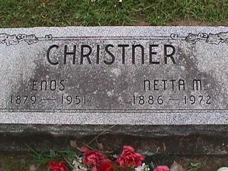 CHRISTNER, ENOS - Henry County, Iowa   ENOS CHRISTNER
