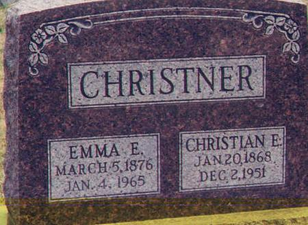 CHRISTNER, EMMA - Henry County, Iowa | EMMA CHRISTNER