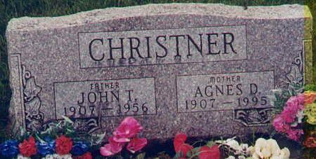 CHRISTNER, AGNES D - Henry County, Iowa | AGNES D CHRISTNER