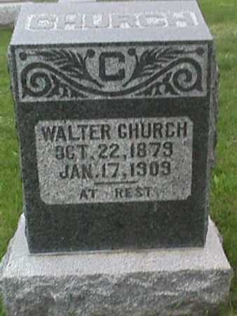CHURCH, WALTER - Henry County, Iowa | WALTER CHURCH