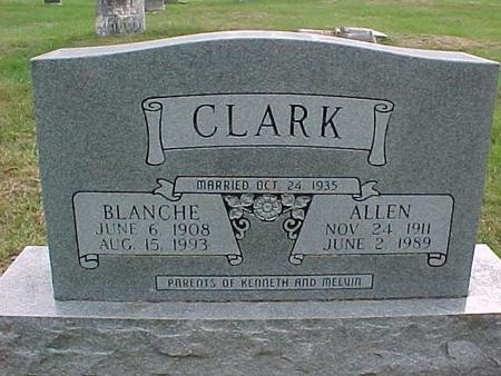 CLARK, BLANCHE - Henry County, Iowa | BLANCHE CLARK