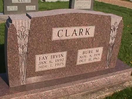 CLARK, FAY - Henry County, Iowa   FAY CLARK