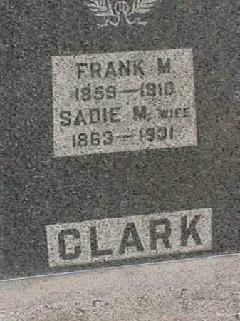 CLARK, FRANK M. - Henry County, Iowa | FRANK M. CLARK