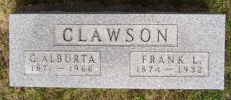 CLAWSON, FRANK L. - Henry County, Iowa | FRANK L. CLAWSON