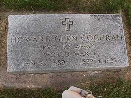 COCHRAN, HOWARD GLEN - Henry County, Iowa | HOWARD GLEN COCHRAN