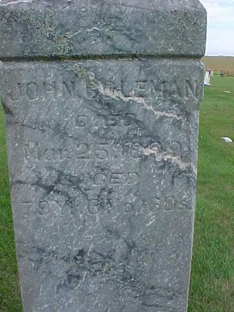COLEMAN, JOHN - Henry County, Iowa | JOHN COLEMAN