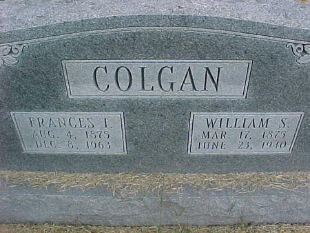 COLGAN, FRANCES I - Henry County, Iowa | FRANCES I COLGAN
