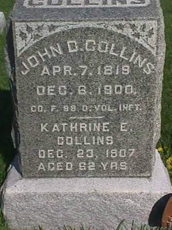 COLLINS, JOHN D. - Henry County, Iowa | JOHN D. COLLINS