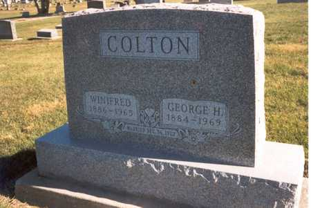 COLTON, GEORGE HARVEY - Henry County, Iowa | GEORGE HARVEY COLTON