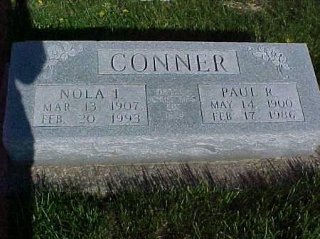 CONNER, PAUL R. - Henry County, Iowa   PAUL R. CONNER