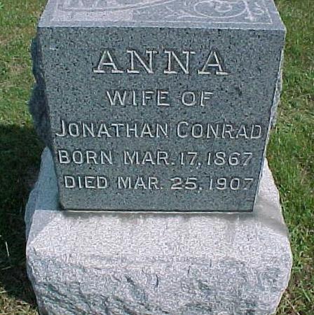 CONRAD, ANNA - Henry County, Iowa | ANNA CONRAD