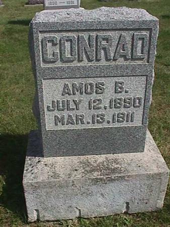 CONRAD, AMOS B. - Henry County, Iowa   AMOS B. CONRAD