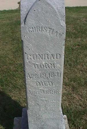 CONRAD, CHRISTIAN - Henry County, Iowa | CHRISTIAN CONRAD