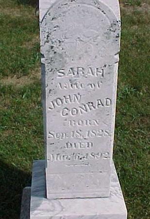 CONRAD, SARAH - Henry County, Iowa | SARAH CONRAD