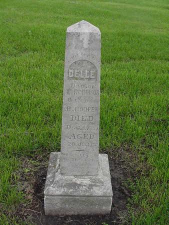 COOPER, BELLE - Henry County, Iowa | BELLE COOPER
