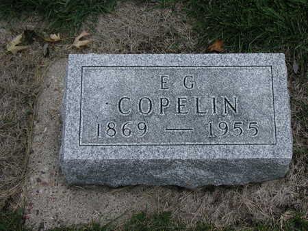 COPELIN, E G - Henry County, Iowa | E G COPELIN