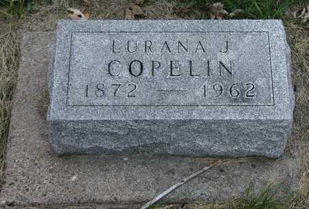 COPELIN, LURANA - Henry County, Iowa   LURANA COPELIN