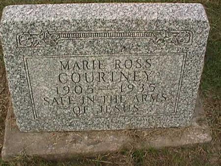 COURTNEY, MARIE - Henry County, Iowa | MARIE COURTNEY