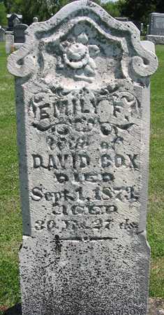 COX, EMILY - Henry County, Iowa | EMILY COX