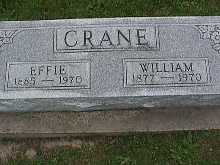 CRANE, WILLIAM - Henry County, Iowa | WILLIAM CRANE