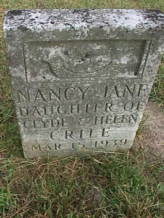 CRILE, NANCY JANE - Henry County, Iowa | NANCY JANE CRILE