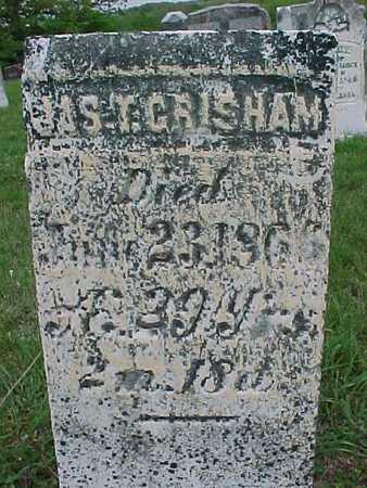 CRISHAM, JAS T. - Henry County, Iowa | JAS T. CRISHAM