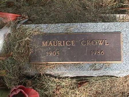CROWL, MAURICE - Henry County, Iowa | MAURICE CROWL