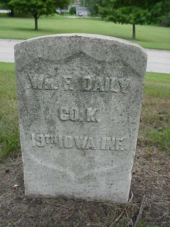 DAILY, WILLIAM F. - Henry County, Iowa | WILLIAM F. DAILY