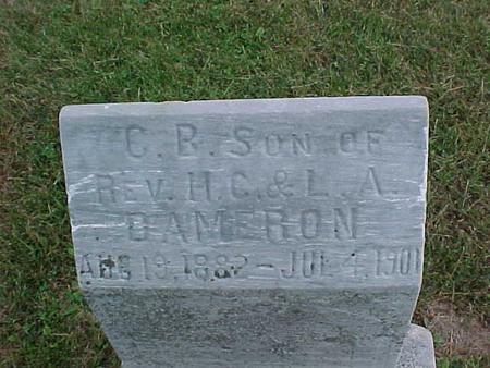 DAMERON, C. B. - Henry County, Iowa   C. B. DAMERON