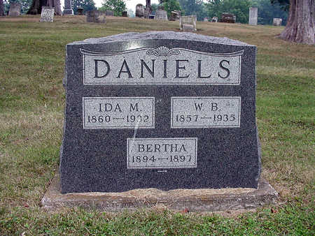 DANIELS, BERTHA - Henry County, Iowa | BERTHA DANIELS
