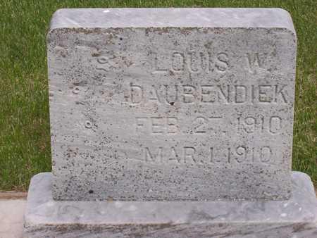 DAUBENDIEK, LOUIS W. - Henry County, Iowa   LOUIS W. DAUBENDIEK